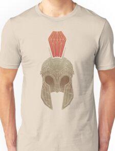 Geometric Trojan Helmet Unisex T-Shirt