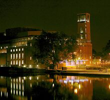 RSC Theatre at night by JohnT