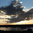 Blue Sky Cloudscape - Burnham Overy Staithe, Norfolk, UK by Richard Flint