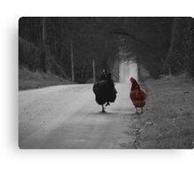 Are we being followed? Canvas Print