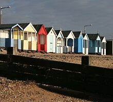 Beach Huts by perrycass