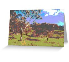 landscape Greeting Card