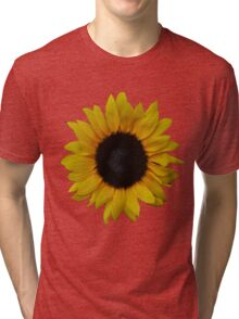 Beautiful Sun flower Tri-blend T-Shirt