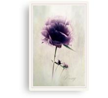 Precious Peony Canvas Print