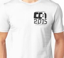 CC:\ 2015 - Chest Print Unisex T-Shirt