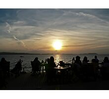 Sunset strip Photographic Print