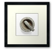 Pestle and Morta Framed Print