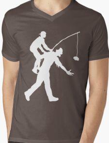 Zombie Ride Mens V-Neck T-Shirt