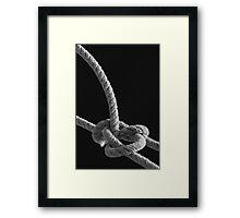 Knot I 8333 Framed Print