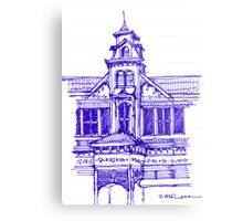 Architecture on Stanmore Avenue, Trinidad Metal Print