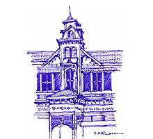 Architecture on Stanmore Avenue, Trinidad Photographic Print