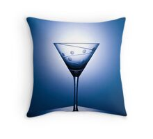 Midnight Martini Throw Pillow