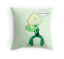 """Is """"This"""" a Weapon? (Peridot) Throw Pillow"""