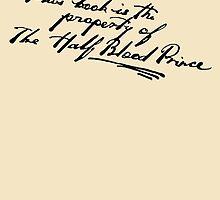 Harry Potter: Half Blood Prince by RobynEJeffrey