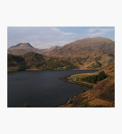 Loch Hourn Guesthouse Photographic Print