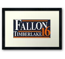 Fallon Timberlake 16 Framed Print
