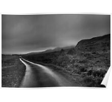'The Superhighway', Eigg, Scotland Poster
