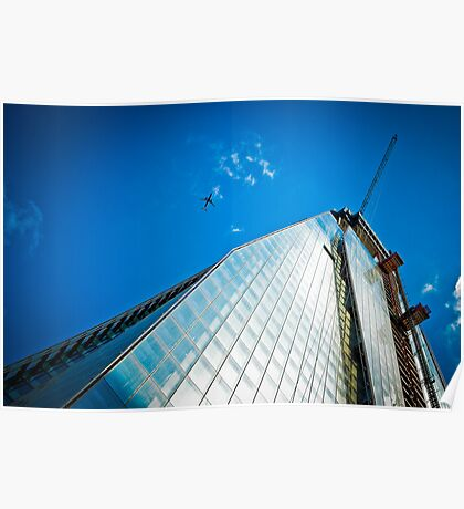 Shard Going Up Poster