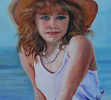 Girl in the Straw Hat by SusanDuda