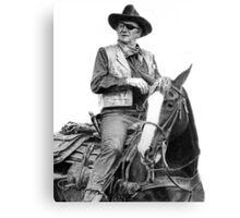 John Wayne as Rooster Cogburn Canvas Print