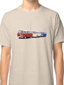 Volkswagen Campervan T2 Group Classic T-Shirt