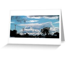 """""""The Uncommon sky"""" Greeting Card"""