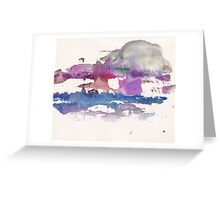 Abstract Painting Nº 10 Greeting Card