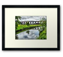 Whalley Viaduct. Framed Print