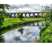 Whalley Viaduct. Photographic Print