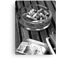 Thanks for Smoking Canvas Print