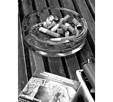 Thanks for Smoking Photographic Print