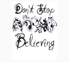 Don't stop Believing by Bobby Alipanahi