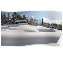 Marshmallow Snow Poster