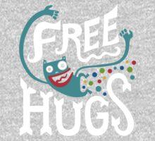 Free Hugs - on dark Kids Tee