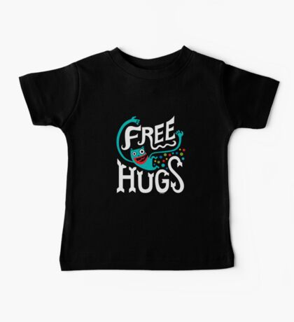 Free Hugs - on dark Kids Clothes