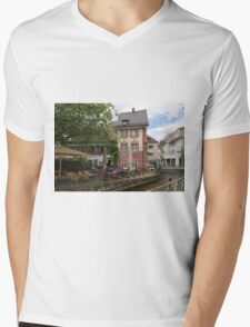 Freiburg Mens V-Neck T-Shirt