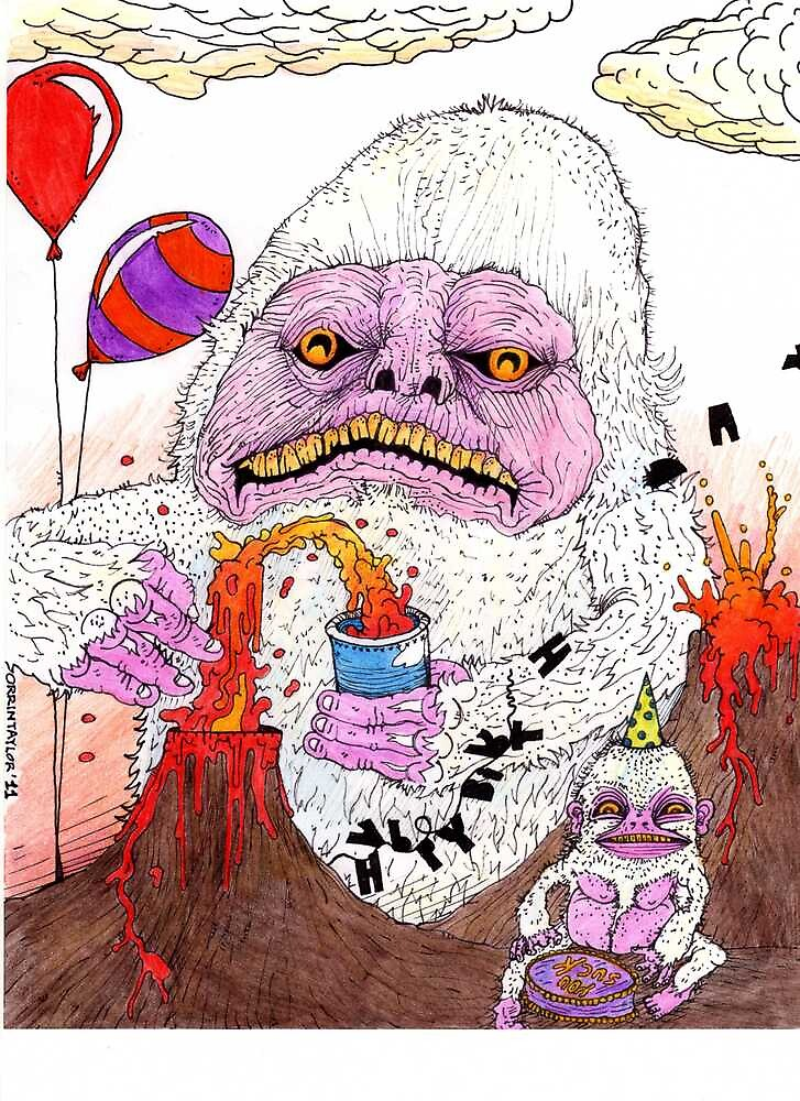 The Lamest Yeti Birthday Party Ever by Orrin Taylor