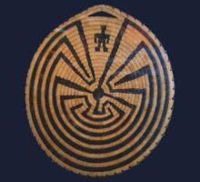 Indigenous Maze One Piece - Short Sleeve