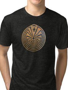 Indigenous Maze Tri-blend T-Shirt