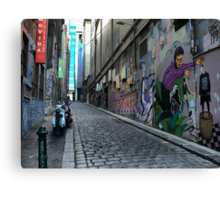 Pilgrimage Into Hosier Canvas Print