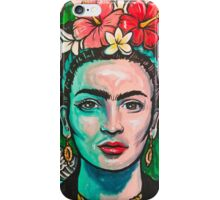 Pink Frida Kahlo iPhone Case/Skin