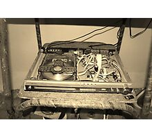 A pre-loved DVD player anyone? Photographic Print