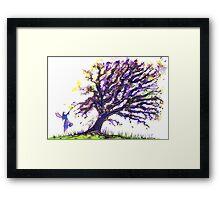 Fairy Dust Tree Framed Print