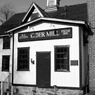 B. F. Clyde's Old Cider Mill Original Building by Debbie Robbins