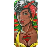 Pineapple Girl iPhone Case/Skin