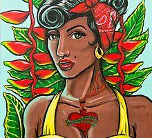 Pineapple Girl by fieldey