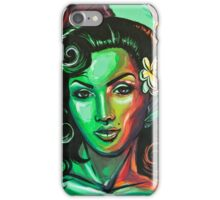 Green Lola Pin up iPhone Case/Skin