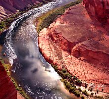 Sunny Side of Horseshoe Bend by Tim Scullion