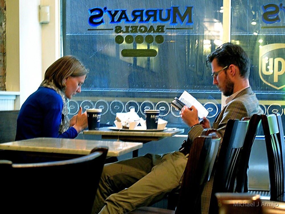 Coffee Conversation by Michael J Armijo