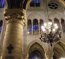 Inside Notre Dame by minikin